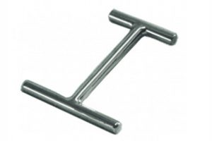 Hamaqueros minimalistas de acero Inoxidable